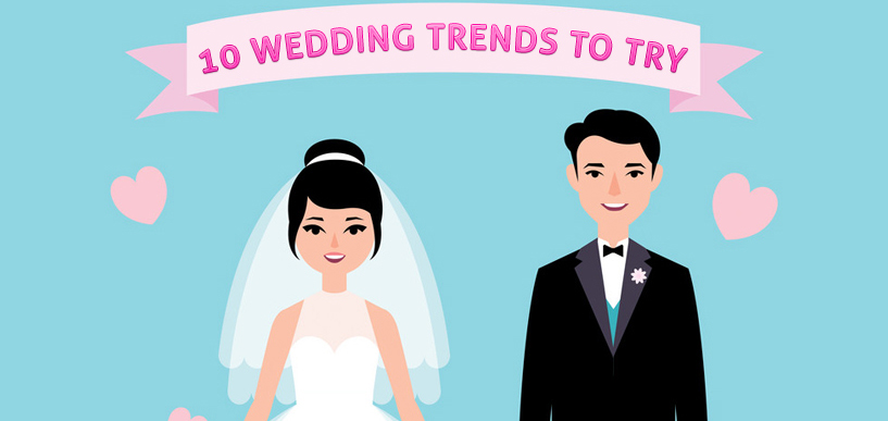 10 Wedding Trends [Infographic]